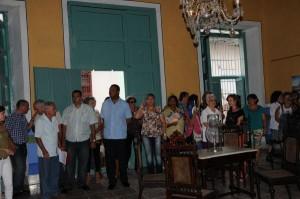 Un inmueble patrimonial acoge la sede de la Oficina del Conservador de la ciudad de Sancti Spíritus.  (Foto: Vicente Brito)