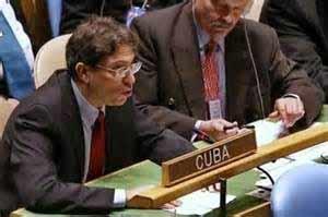No puede aceptarse que bajo el mismo manto ejecuten o permitan violaciones flagrantes de los derechos humanos, argumentó Cuba.