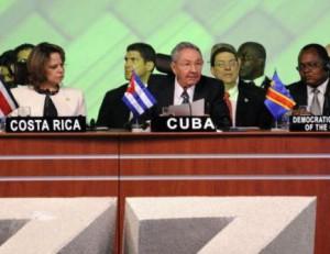 Raúl hizo un llamado a todos los países a unirse para enfrentar juntos los ataques del Gobierno de Estados Unidos.