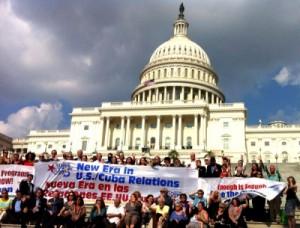 La III Jornada «5 Días por los 5» en la Escalinata del Capitolio de Washington.