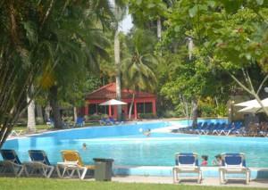 La Villa cuenta con aguas termales, efectivas en el tratamiento de varias enfermedades crónicas.