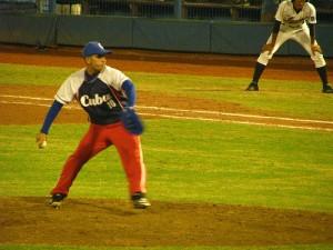 Aldo Conrado, internacional en las categorías juveniles, salió derrotado en el debut del sub-23 ante Camaguey. (foto: IBAF)