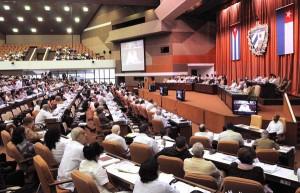 Vista de la sesión ordinaria de la Asamblea Nacional del Poder Popular. Foto AIN
