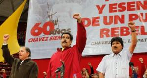 Homenaje a Chávez este lunes en el Poliedro de Caracas. Foto AVN.