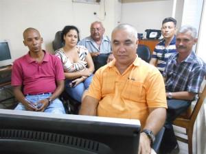 Foro online sobre el Santiago espirituano. (foto: Aracelia del Valle)