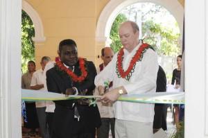 Gordon Darcy calificó la apertura de la sede diplomática como un hecho crucial para seguir fortaleciendo las relaciones entre ambas naciones. Foto AIN.