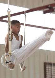 La gimnasia artística produjo más de un multimedallista. Foto: INDER
