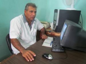 Jesús Gómez Villazón, vicedirector del Centro Provincial de Higiene, Epidemiología y Microbiología.