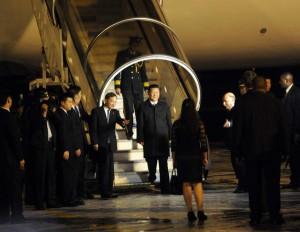 Cuba resulta la última escala de la segunda gira del presidente de China por América Latina. Foto AIN