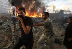 El operativo israelí Borde Protector entró en su día número 20.