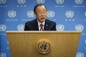 Ban Ki-moon urgió nuevamente en los términos más enérgicos a todas las partes a evitar una mayor escalada de violencia.