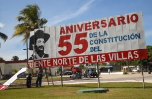Los brigadistas han estado atentos a las hazañas de los guerrilleros del Frente Norte en Yaguajay.