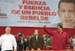 El Primer Vicepresidente de los Consejos de Estado y de Ministros, Miguel Díaz-Canel, llevó el abrazo del pueblo cubano.