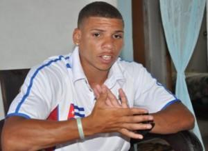 Yosbany Veitía, el mejor púgil cubano en la Serie Mundial con ocho victorias sin derrotas.
