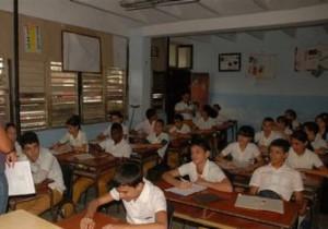 La Escuela Secundaria Básica Urbana Ernesto Valdés Muñoz, una de las que se somete a reparación general en la ciudad del Yayabo.
