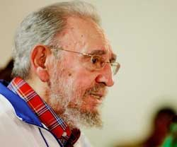Fidel Castro Blasts Downing of Malaysian Plane and Expresses Solidarity with Palestine