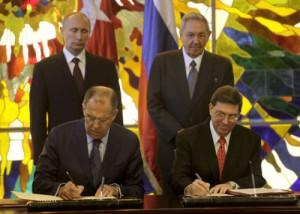 firma de acuerdos entre rusia y cuba