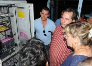 El nuevo gabinete telefónico de la barriada de Colón ofrecerá más de 500 nuevas líneas.