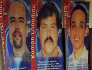 Gerardo Hernández, Ramón Labañino y Antonio Guerrero permanecen injustamente encarcelados.