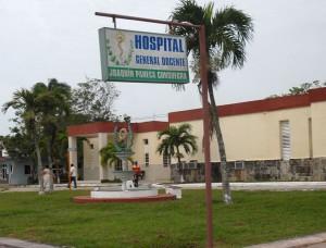 La Brigada Europea José Martí tiene previsto visitar el Hospital Municipal Joaquín Paneca —antiguo cuartel de la tiranía rendido por Camilo. (Foto: Oscar Alfonso)