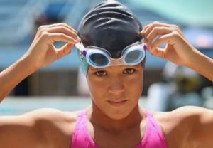 Melisa conquistó el oro en los 50 metros mariposa.