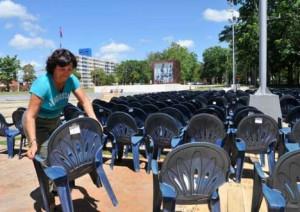 Preparativos en Artemisa para el acto central del 26 de Julio.