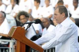 José Antonio Valeriano resaltó el legado histórico de la generación de artemiseños que acompañaron a Fidel en la gesta del Moncada.