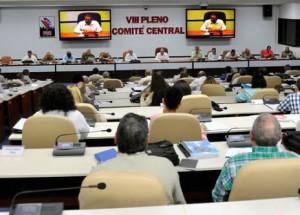 El Primer Secretario del Partido Comunista de Cuba, Raúl Castro Ruz, presidió la reunión.