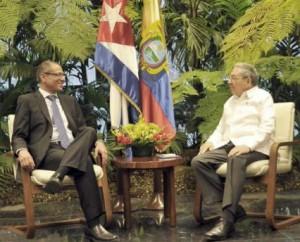 El excelentísimo señor Jorge Glas Espinel realiza una visita oficial a Cuba.