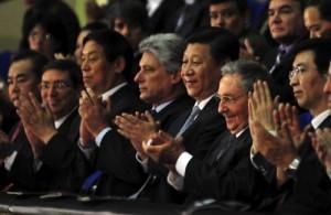 Raúl y Xi Jinping, junto a otros altos dignatarios, asistieron a la gala Amistad Cuba-China .