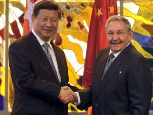 Raúl Castro y Xi Jinping sostienen conversaciones oficiales en La Habana.