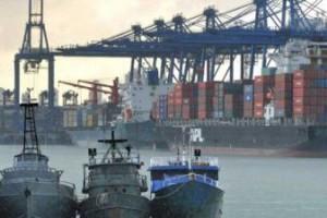 Los barcos que llegaron al puerto cubano portaban una media de 280 a 300 contenedores.