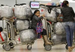 Cada pasajero puede entrar artículos duraderos y misceláneas hasta un valor de 1 000 pesos.