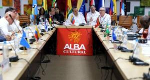 La V Reunión de Ministras y Ministros de Cultura del Alba sesiona en Caracas.