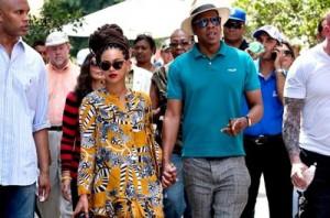 Beyoncé y Jay-Z celebraron su quinto aniversario de boda en La Habana .