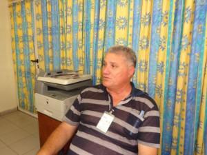 Ernesto Funticilla Pérez, director en funciones de la Empresa Provincial de Ómnibus Nacionales.