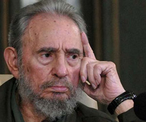 Fidel Castro sumó su firma a las de decenas de intelectuales y políticos que suscribieron el Manifiesto en Defensa de Palestina.