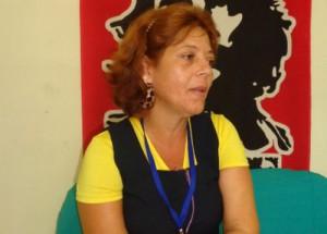Iliana Pérez Pérez, administradora de la Agencia 453 en Sancti Spíritus.