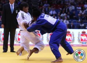 Dayaris Mestre se fue sin medalla, pero registró una loable actuación en el Mundial.