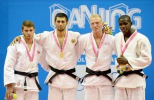 Iván Felipe Silva obtuvo medalla de bronce en la categoría de los 81 kilogramos del judo.