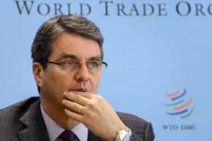 Roberto Azevedo, director general de la OMC.
