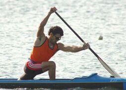 Serguey Torres participa en el Mundial de canotaje de Moscú, previsto del 6 al 10 del corriente mes.