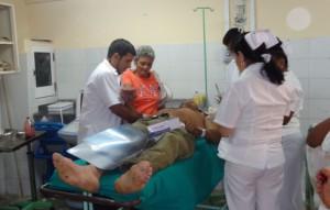De los cinco lesionados atendidos en el mayor centro asistencial de la provincia uno solo se encuentra de alta.