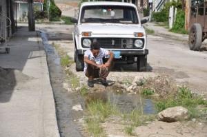 La foto corresponde a la calle Arturo Cabrera, en la cabecera municipal de Cabaiguán. (foto: Vicente Brito)