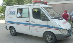 Los lesionados están siendo trasladados hacia el Hospital Provincial Camilo Cienfuegos.