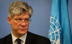 Fabrizio Hochschild, Coordinador Residente y Humanitario de Naciones Unidas en Colombia.