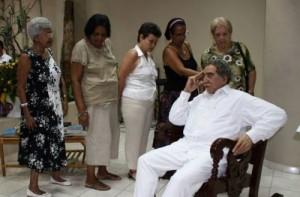 El Gabo de cera. (foto: Ismael Francisco)