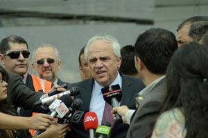 Samper, futuro secretario general de la Unión de Naciones Suramericanas.