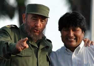 Morales agradeció el respaldo de Fidel y de su pueblo durante los primeros años de su gestión al frente al Ejecutivo de Bolivia.