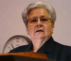 Gladys Bejerano, vicepresidenta del Consejo de Estado de la República de Cuba.
